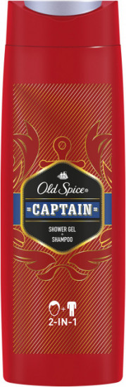 Шампунь-гель для душа Old Spice «Captain»