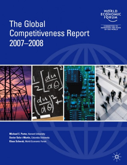 The Global Competitiveness Report 2007-2008 (Global Competitiveness Report) (Paperback)