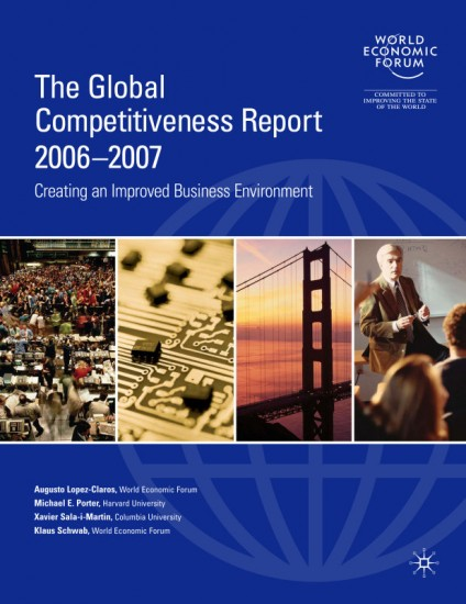 The Global Competitiveness Report 2006-2007 (Global Competitiveness Report) (Paperback)