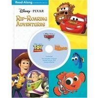 3-in-1 Read-Along Storybook: Disney & Pixar Rip-Roaring Adventures