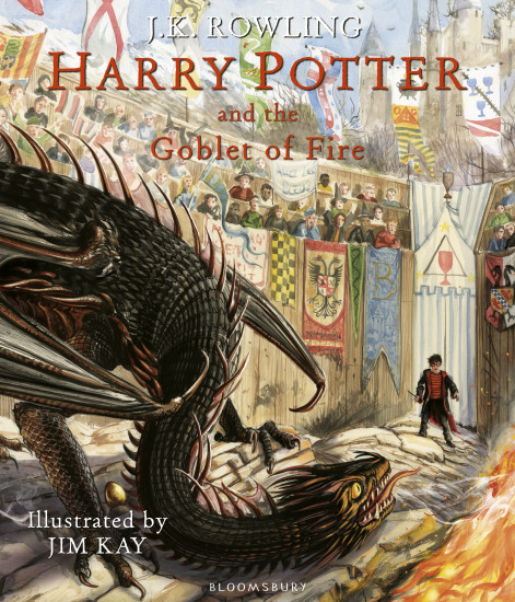 Harry Potter and the Goblet of Fire: Illustrated Edition
