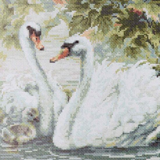 Алмазная мозаика лебеди стартекс ооо