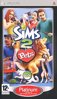 The Sims 2: Pets. Platinum (PSР)