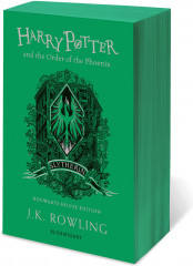 Harry Potter and the Order of the Phoenix. Slytherin edition. Paperback