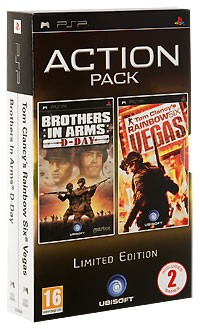 "Action Pack: Игра ""Brothers in Arms: D-Day"" + игра ""Tom Clancy's Rainbow Six: Vegas"""