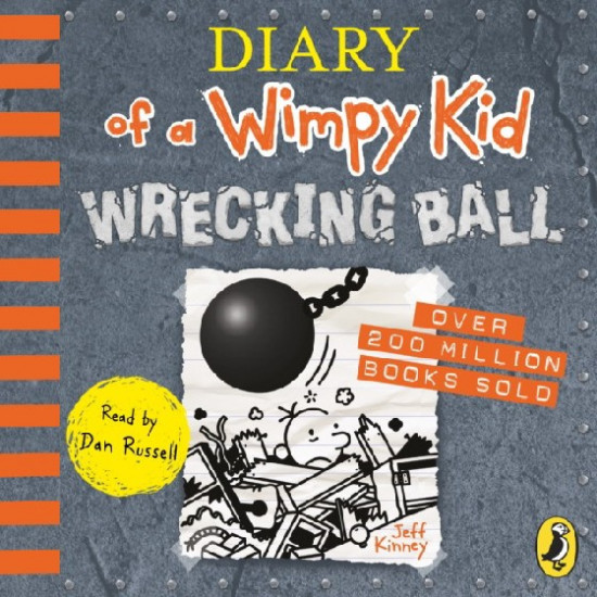 Diary of a Wimpy Kid: Wrecking Ball. Audio CD