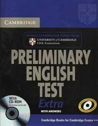 Cambridge Preliminary English Test Extra. Student's Book with answers (+ CD-ROM)