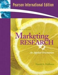 Marketing Research: Applied Orientation and SPSS