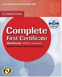 Complete First Certificate Workbook + Audio CD