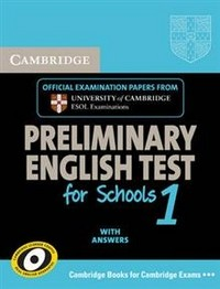 Cambridge PET for Schools 1 Self-study Pack (Student's Book with Answers with Audio CDs (2)): Level 1