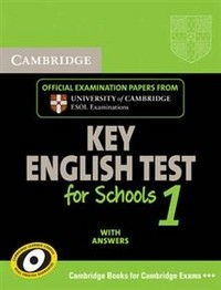 Cambridge KET for Schools 1 Self-study Pack (Student's Book with Answers and Audio CD): Level 1