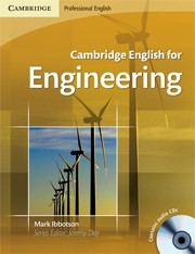 Cambridge English for Engineering Student's Book (with 2 Audio CDs)