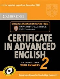 Cambridge Certificate in Advanced English 2 for Updated Exam Student's Book with Answers: No. 2