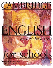 CES (Cambridge English for Schools) 3 Student's Book
