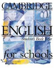 CES (Cambridge English for Schools) 4 Student's Book