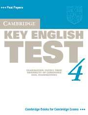 Cambridge KET (Key English Test) 4 Student's Book