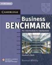 Business Benchmark Pre-Intermediate / Intermediate Student's Book BEC (business english course)