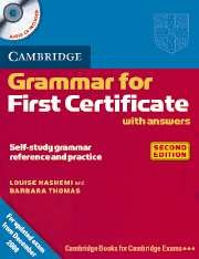 Cambridge Grammar for First Certificate With Answers