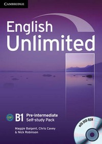 English Unlimited. Pre-Intermediate. Self-study Pack (Workbook)