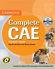 Complete CAE Student's Book without answers