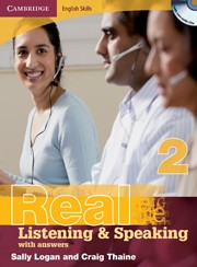 Cambridge English Skills: Real Listening and Speaking 2 with answers (+2 audio CDs)