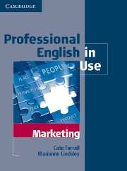 Professional English in Use Marketing Edition with answers