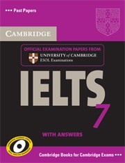 Cambridge IELTS 7 Self-study Pack (Student's Book with Answers and 2 Audio CDs)
