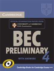Cambridge BEC 4 Preliminary Student's Book with answers