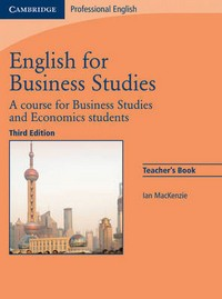 English for Business Studies. Teacher's Book
