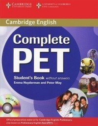 Complete PET Student's Book without Answers