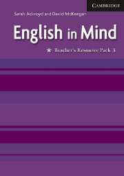English in Mind 3 Teacher's Resource Pack