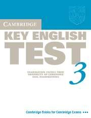 Cambridge KET (Key English Test) 3 Student's Book