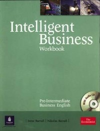 Intelligent Business. Pre-Intermediate. Workbook