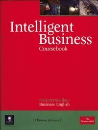 Intelligent Business Course Book. Pre-Intermediate Business English