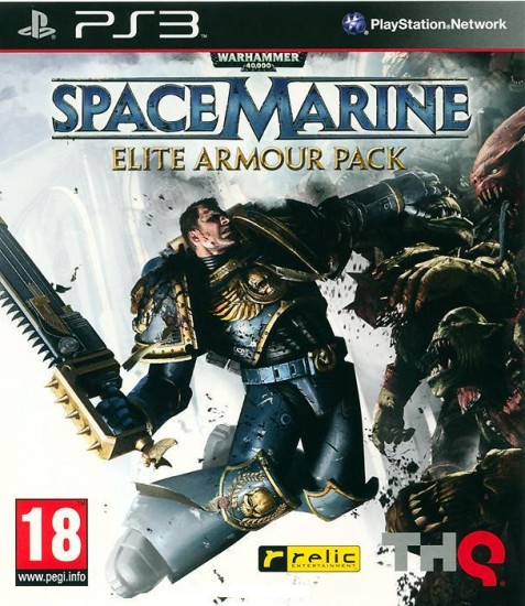 Warhammer 40000: Space Marine. Elite Armor Pack (PS3)