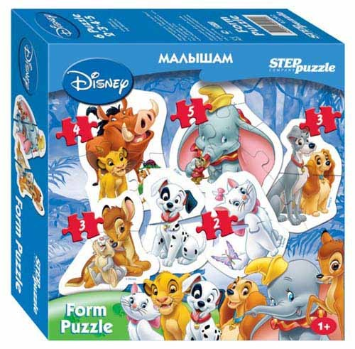 "Form Puzzle ""Animal Friends"""