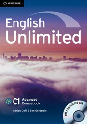 English Unlimited. Advanced Coursebook with E-Portfolio (+ DVD)