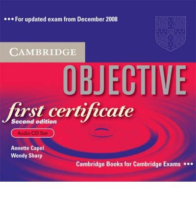 Audio CD. Objective First Certificate