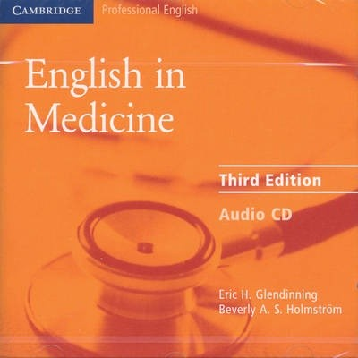 Audio CD. English in Medicine Third edition (Intermediate)