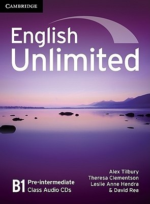 Audio CD. English Unlimited Pre-intermediate Class Audio CDs