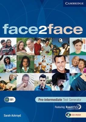 Face2face Pre-intermediate Test Generator CD-ROM/Audio CD