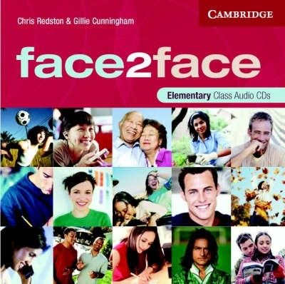 Audio CD. Face2Face Elementary Class CDs (3)