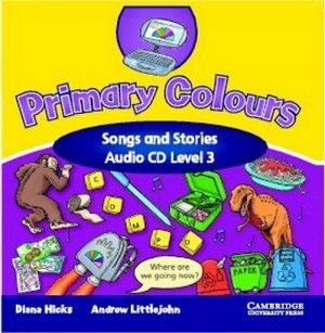 Audio CD. Primary Colours Level 3 Songs & Stories