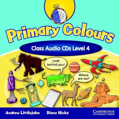 Primary Colours Level 4 Class Audio CDs (2)