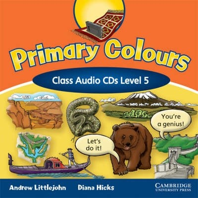Primary Colours Level 5 Class Audio CDs (2) [Audio]
