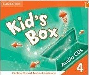 Kid's Box Level 4 Audio CDs (3)