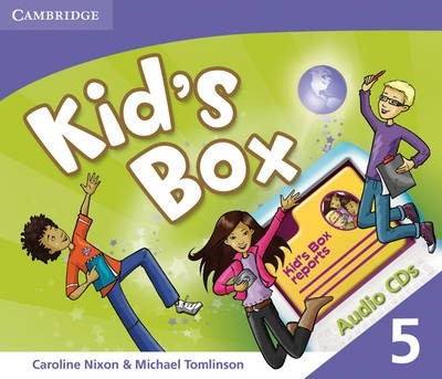 Kid's Box Level 5 Audio CDs (3)