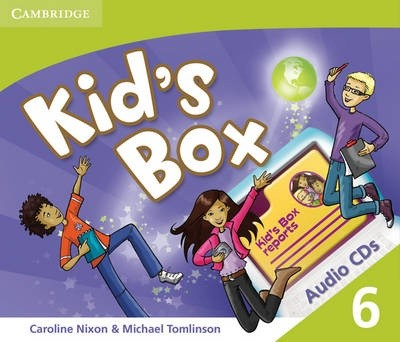Kid's Box Level 6 Audio CDs