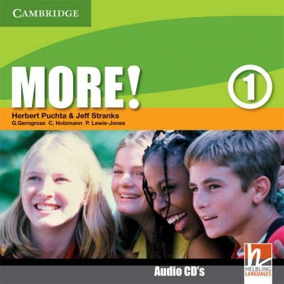More! Level 1 Class Audio CDs (2)
