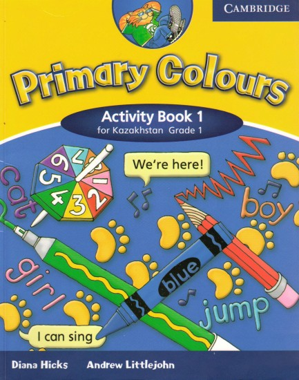 Primary Colours Level 1  Activity Book Kazakhstan Edition